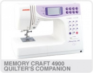 Memory Craft 4900 Quilter's Companion